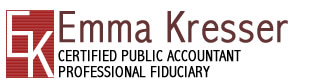 Emma Kresser, Certified Public Accountant
